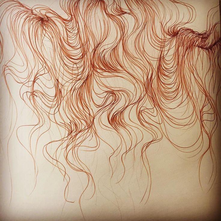 Life is like tangled hair  ... La vida es como el pelo enredado  .. #MissVan by vanessa_alice