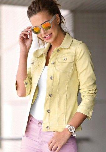 Jednobarevné sako na knoflíky #ModinoCZ #modino_cz #modino_style #style  #fashion #spring #summer #jacket