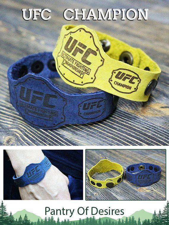 conor mcgregor, mcgregor merchandise, ufc, ufc champion, rousey ufc, championship belt, ufc belt, leather bracelet, engraved bracelet