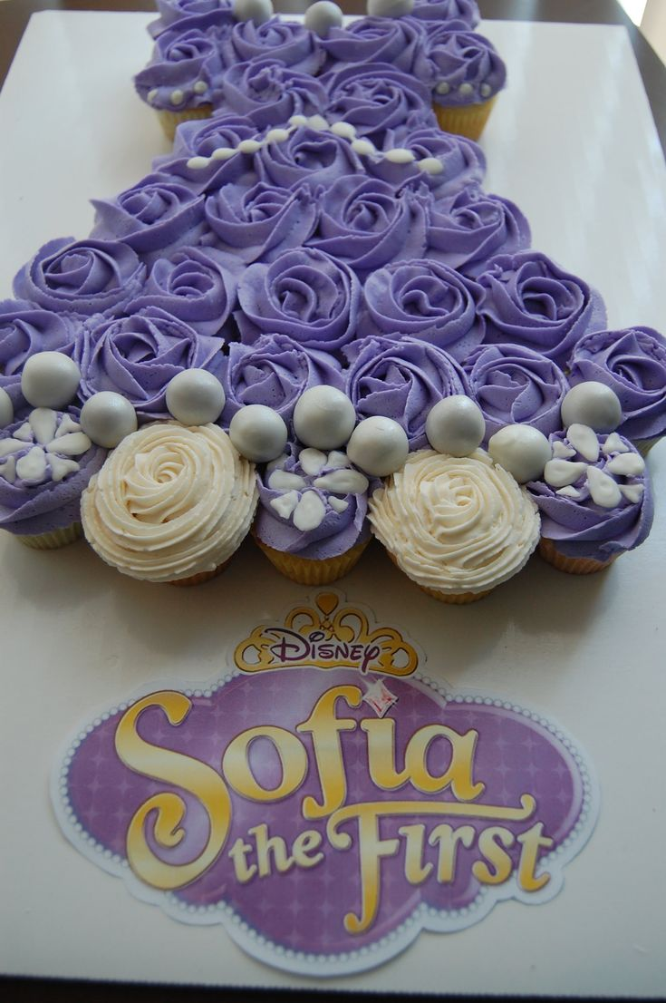 Have a Sofia Fan? Want to make your little one a cute Sofia cupcake dress? Don't move and watch my video on how to make Sofia's dress out of cupcakes! Want t...