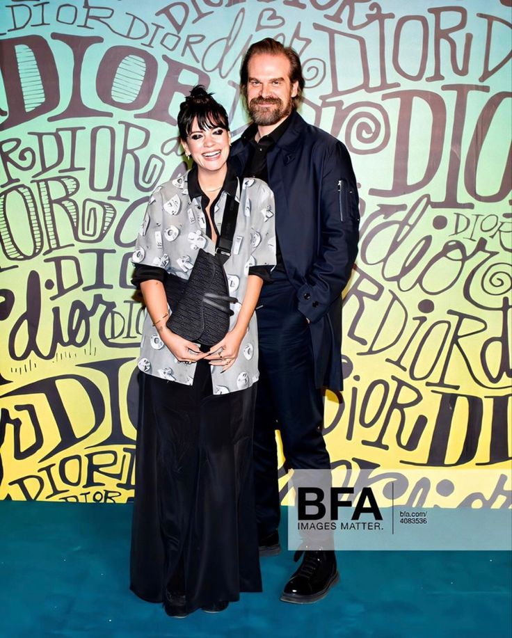Lily Allen and David Harbour Lily allen, Lily, Tribute