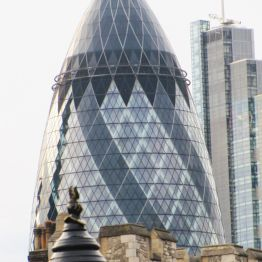 The Tower and The Gherkin