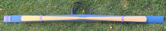 Kayak paddle bag made by TIFA Bags European paddle by TIFABags