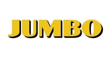 Het logo van het speelgoedbedrijf Jumbo bestaat uit een olifant met 'Jumbo' in het midden van het logo. Omdat Jumbo de naam is van een leuk olifantje uit een Disney film waarvan veel mensen blij worden, wat dus de associatie blij zijn heeft met het speelgoed bedrijf waarmee je mensen blij kan maken met speelgoed verkopen. Ik vind het een goed logo want het geeft goed de intentie van het bedrijf weer.