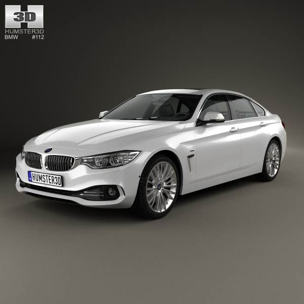 bmw 4 series f36 gran coupe luxury line 2013 3d model from rh pinterest com