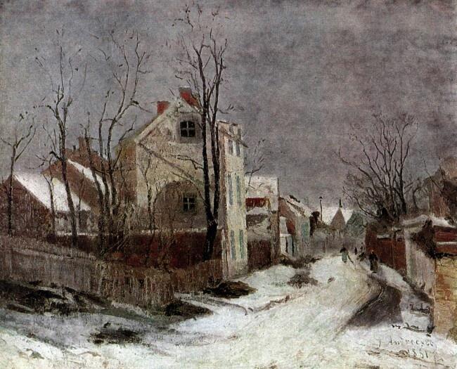 Winter at Barbizon Ion Andreescu