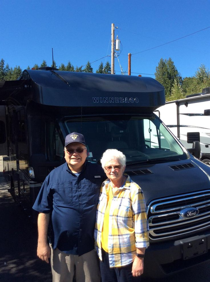 GLEN AND MYRNA's new 2017 FUSE 23T! Congratulations and best wishes from Clear Creek RV Center and DAVID GIESEN.
