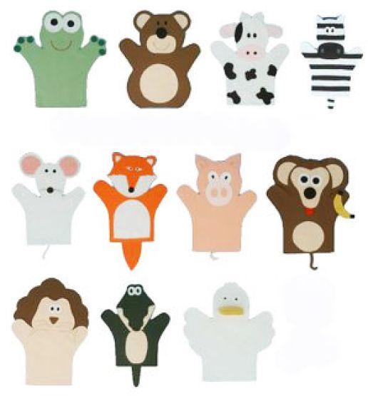 .: Fantoches com moldes: Fantoches De, Of Animals, Felt, Email Template, De Fantoch, Fantoch De Dedo, Fingers Puppets, Marioneta Fieltro, Animals Color Pink