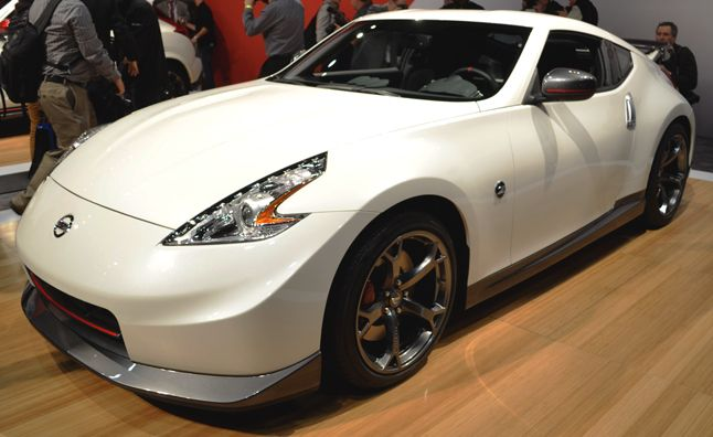2014 Nissan 370Z NISMO Gets New Look, Same Awesome Performance. For more, click http://www.autoguide.com/auto-news/2013/02/2014-nissan-370z-nismo-gets-new-look-same-awesome-performance.html