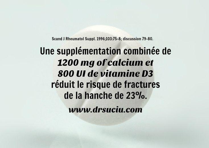 Photo drsuciu La supplémentation diminue le risque de fractures