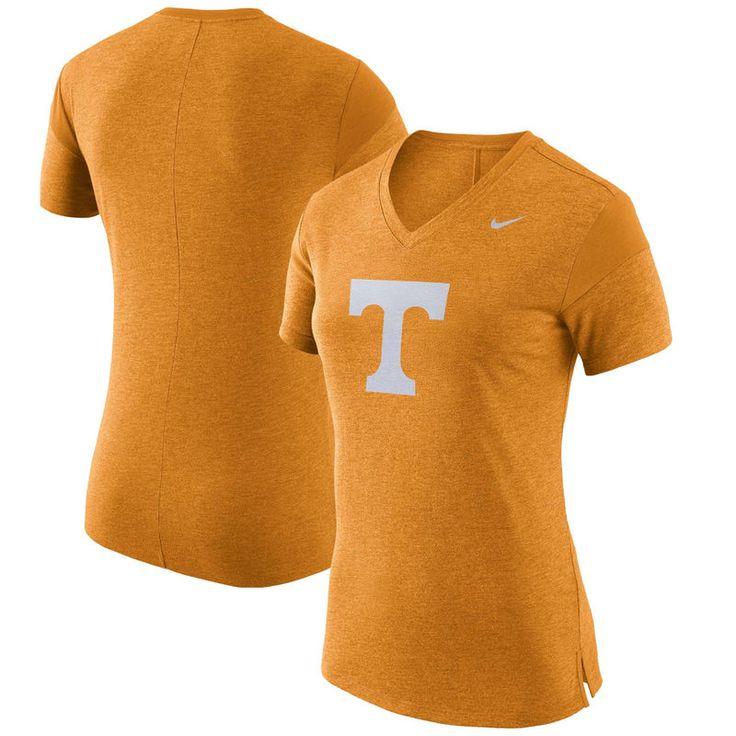 Tennessee Volunteers Nike Women's Fan V-Neck T-Shirt - Tennessee Orange
