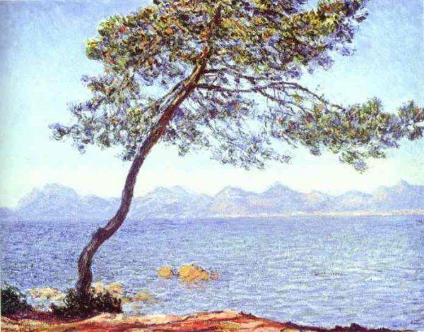 """""""Montagnes de Esterel"""" (1888) Claude Monet (1840-1926)"""