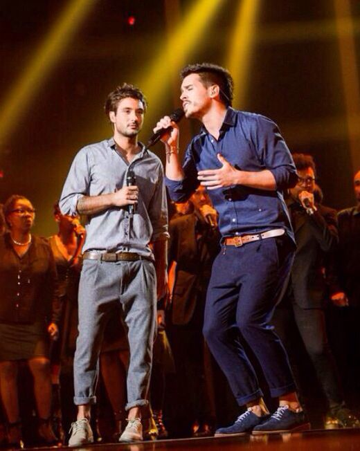 AliX&AleX chantent avec les frérots. (Fréro - Delavega) #frero #delavega