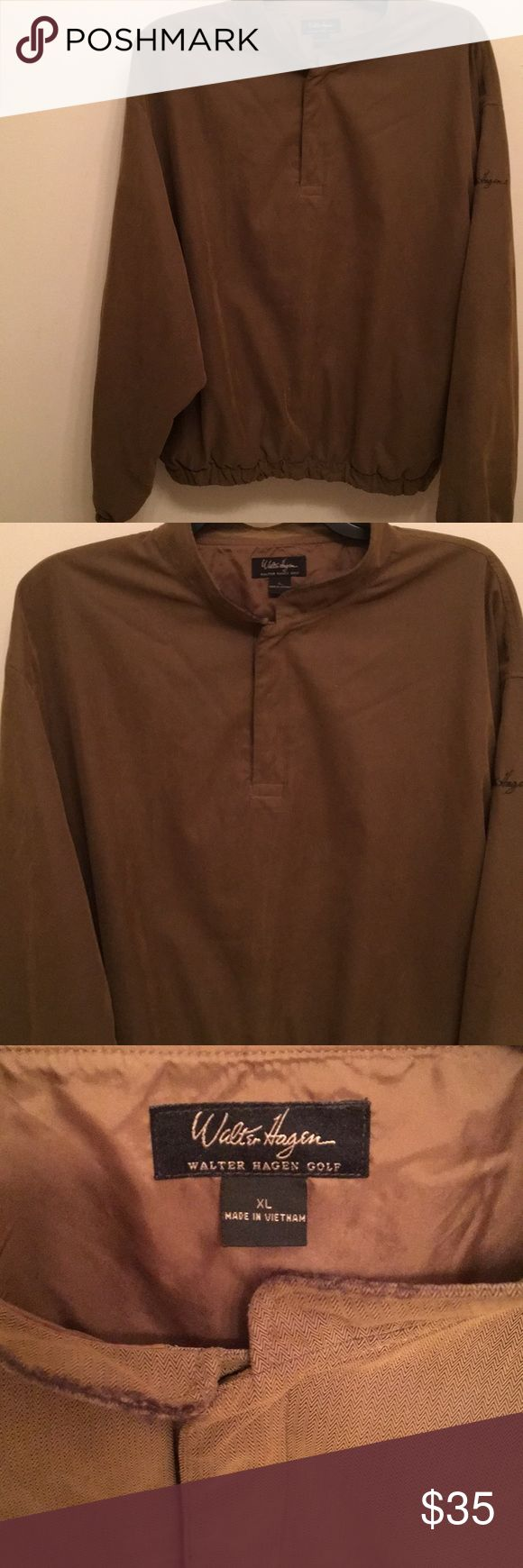 Walter Hagen Golf Jacket Walter Hagen Golf Jacket great condition color is olive green Walter Hagen Jackets & Coats Performance Jackets