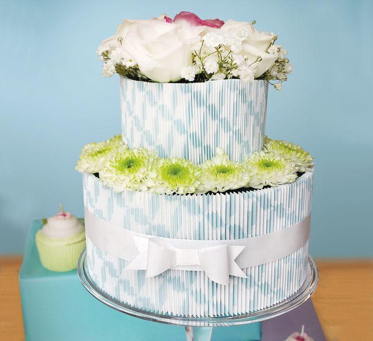 Un délicieux gâteau de manchettes en attendant l'été...
