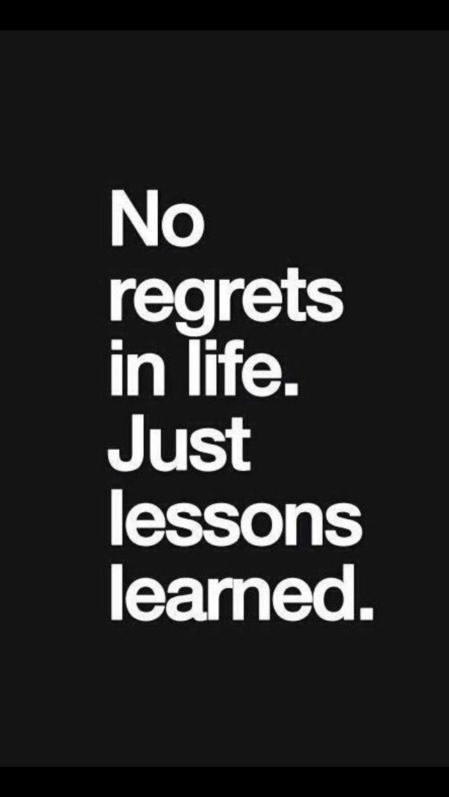 Not only do you learn what not to do/what not to accept but you also learn what to do/what you want and what you ARE willing to accept.