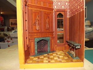 Late Victorian English Manor Dollhouse: 1/12 Miniature from Scratch  Giac's blog, roombox inspired by his great room