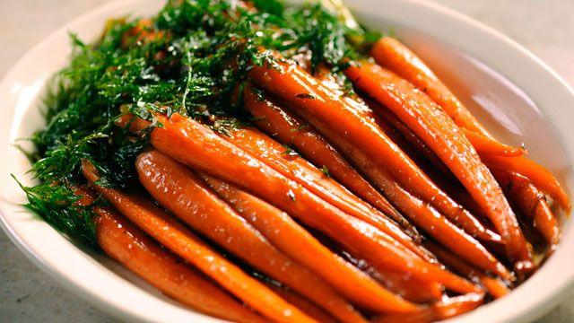 Brown Sugar-Glazed Carrots Recipe   Side Dish Recipes   martha's cooking school - PBS Food