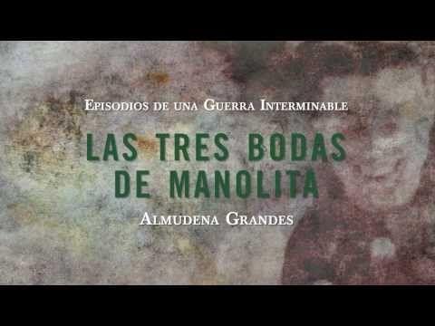 """Book Trailer de """"Las tres bodas de Manolita"""" Almudena Grandes"""