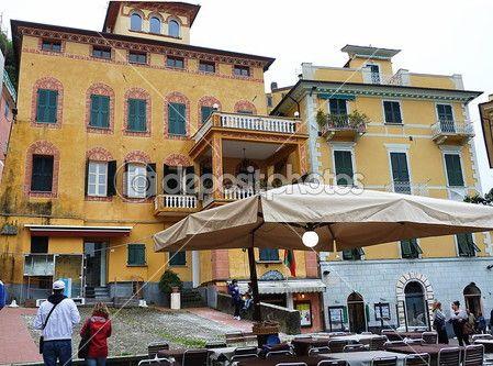 Lerici main square, Liguria, Italy