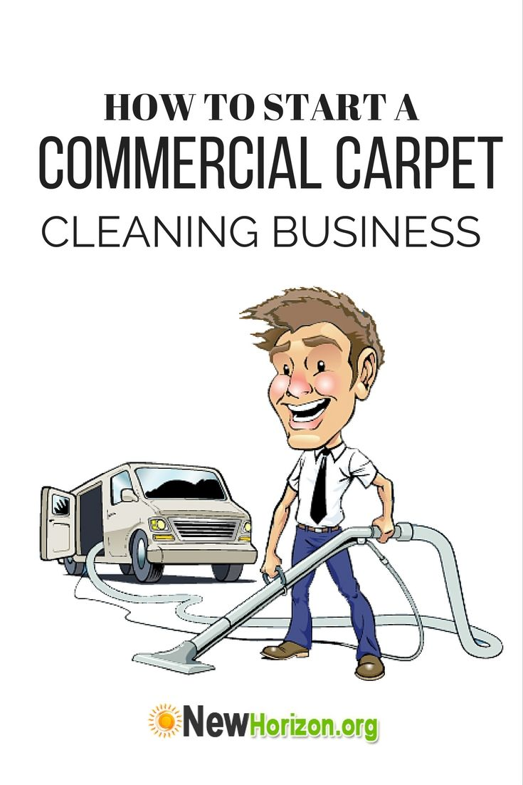 Start a Commercial Carpet Cleaning Business