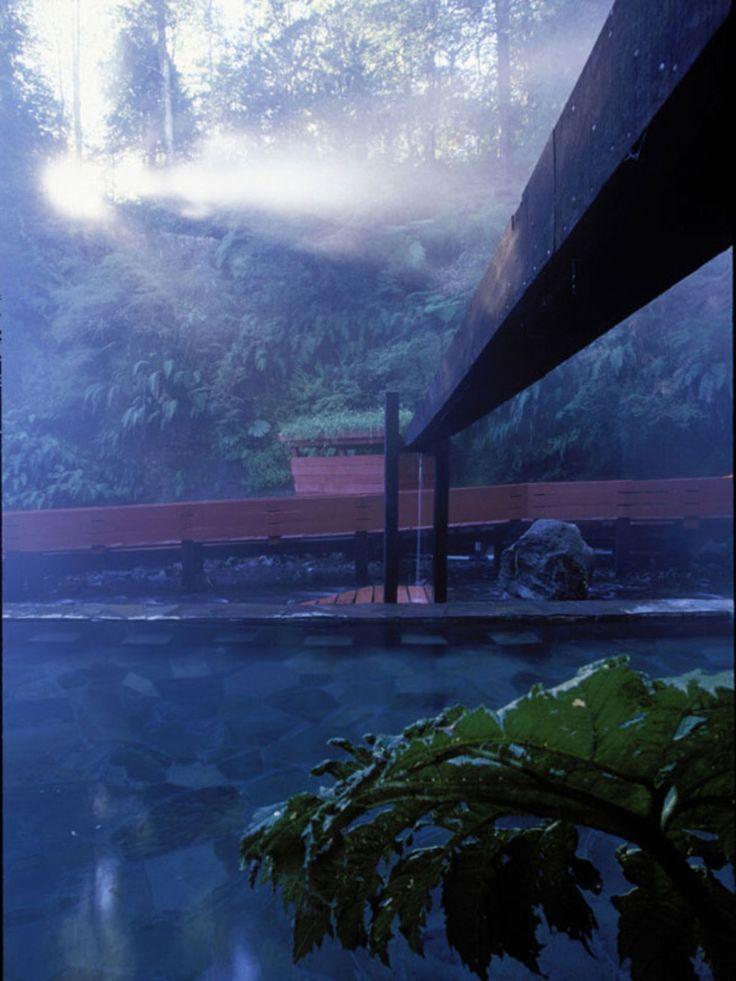 German Del Sol, Guy Wenborne · Termas Geométricas. Villarrica National Park in Chile · Divisare