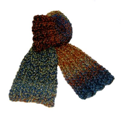Mistake rib scarf knit and crochet Pinterest