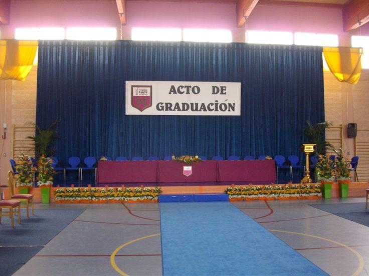 Graduacion Decoracion ~ Decoraci?n de acto de graduaci?n de bachillerato en el Eurocolegio