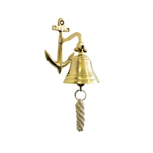 Buy BRASS BELL NAUTICAL 10CM Pub Den Man Cave Last Round for R499.00