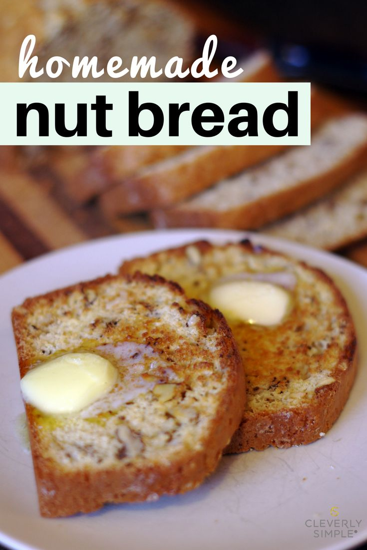 This homemade nut bread is absolutely delicious!  It's easy to make as it was my grandma's recipe.  You have to try it!  So good!
