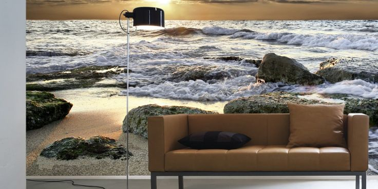 We're loving the look of high-impact accent walls. Check it out. VIA photowall.nl (Similar to shown: $285 VIA Etsy) $79.99 VIA Etsy VIA Aequivalere $79.99 VIA Amazon $51.56 VIA Design Your Wall $89 VIA Etsy More bold wall-art ideas right here at Th...