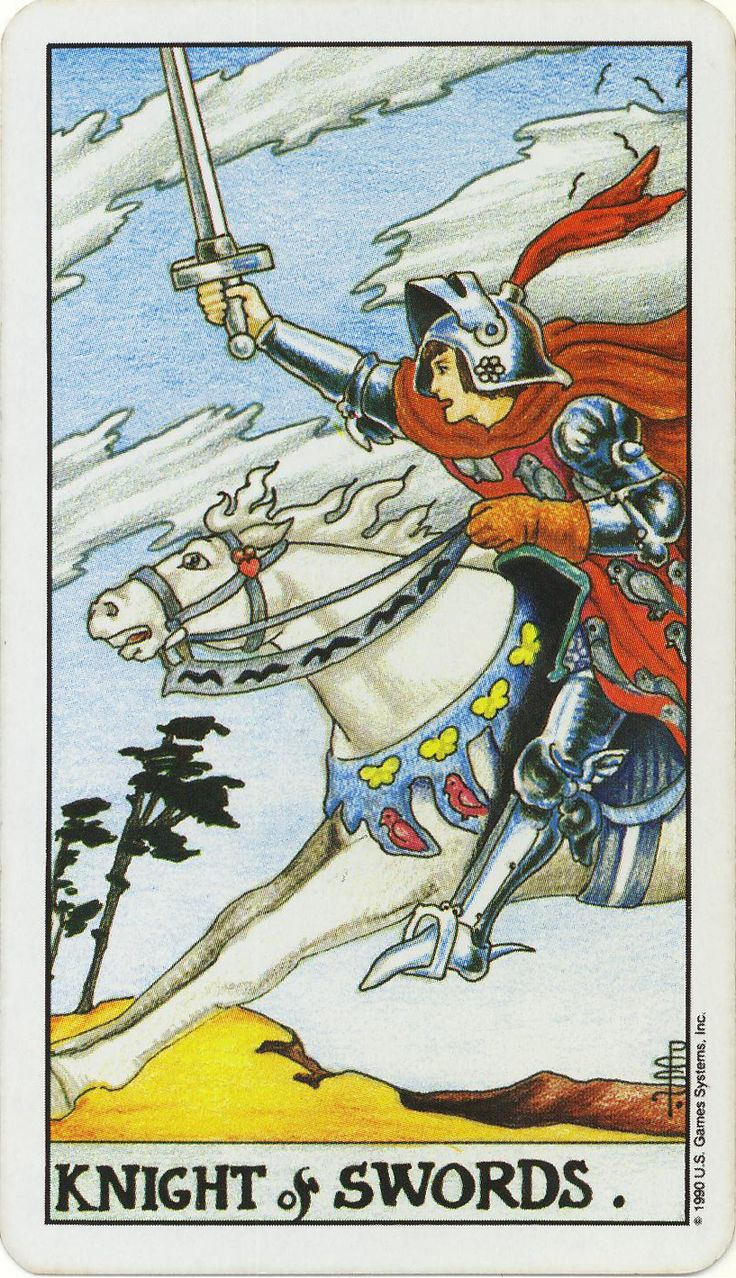 knight of swords sexual tarot proportion could