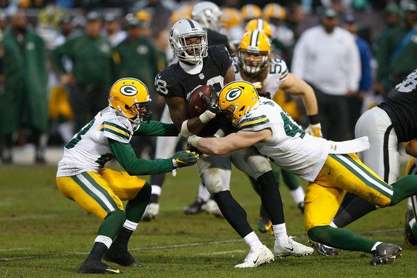 packers raiders | Latavius Murray Pictures - Green Bay Packers v Oakland Raiders ...