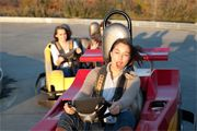 Frankies Fun Park - Have you had your fun today?     Traveler Description: Frankie's Fun Park is an amusement park for all ages. It has two go cart tracks, laser tag, miniature golf, boat rides, batting cages, an above.