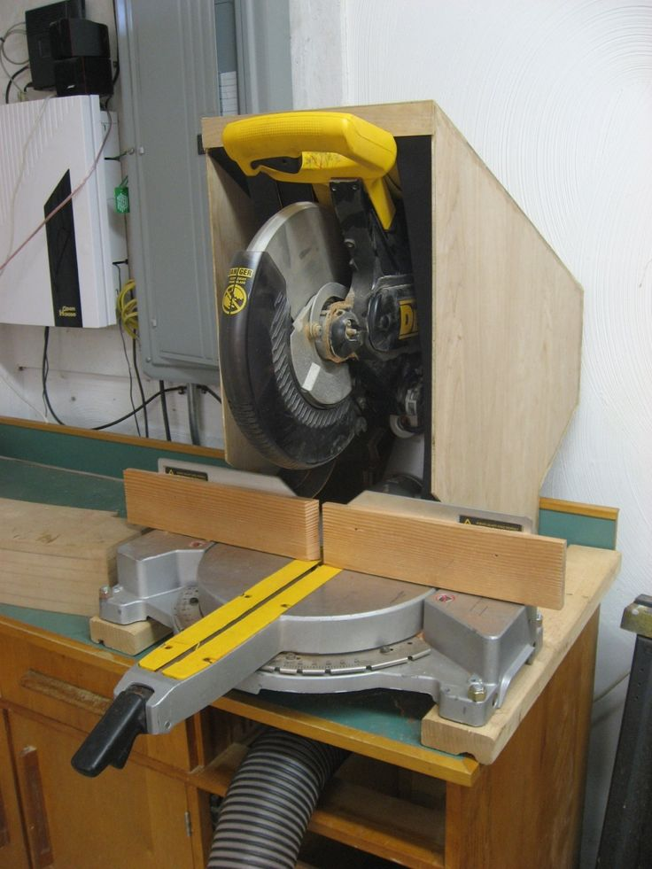 Mitre Saw Dust Collector Buscar Con Google Woodworking