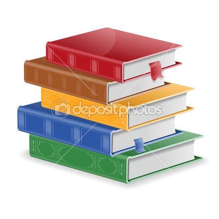 Стопка книг — Стоковая иллюстрация #51469387