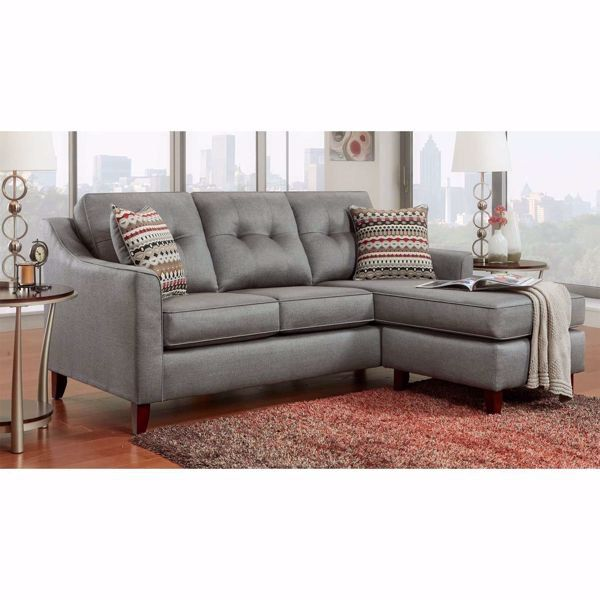 Elizabeth Capri Gray Reversible Sofa Chaise By Washington Furniture Is Now Available At American Furniture Warehouse Sho Sectional Sofa Couch Sofa Chaise Sofa