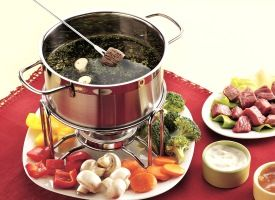 Beef and Chicken Fondue Recipe - Tablespoon