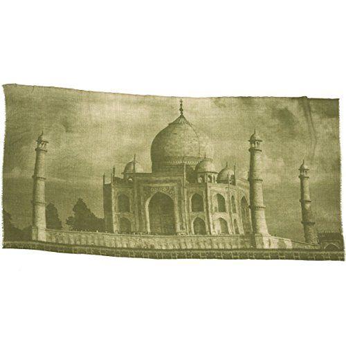 Taj Mahal Print Scarf l £65 l V&A Shop