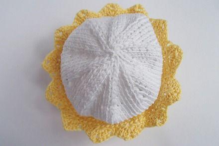 cappellino per principini - in puro cotone : Moda bebè di mompatchwork