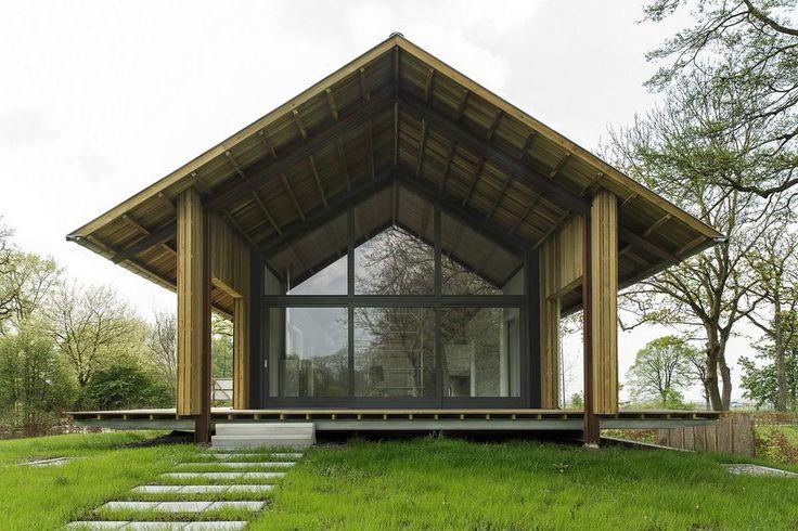 Дом-сарай (Barn House) в Голландии от Foreco.