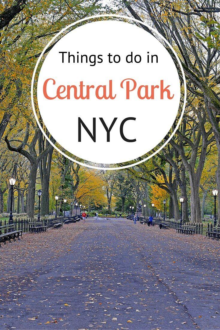 Dicas por um local sobre coisas para fazer em Central Park, Nova York durante o outono, verão, inverno e primavera!