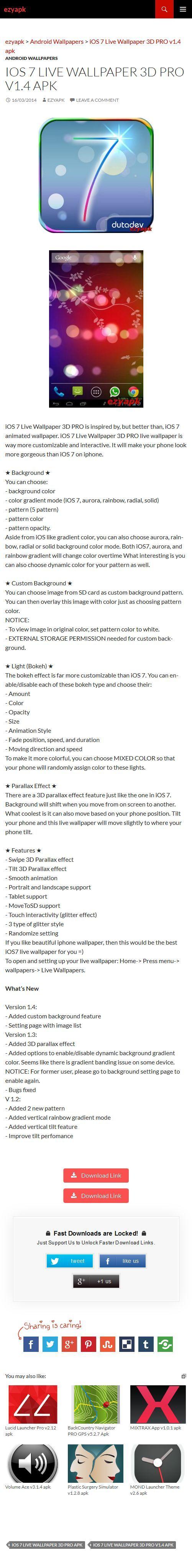 """ios 7 live wallpaper 3d pro v1 4 apk a filechocoa""""¢"""