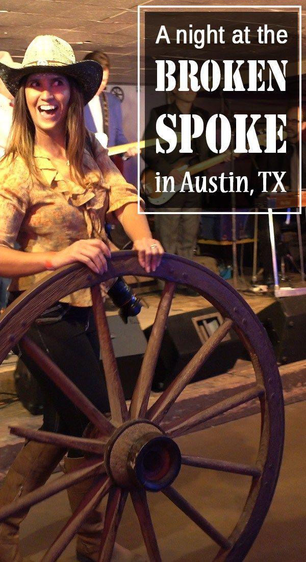 Broken Spoke - a Texas dance hall in Austin