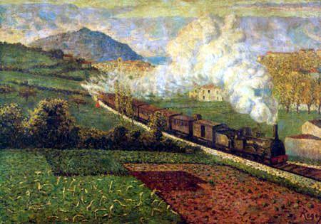 Der Zug nach San Sebastian, November