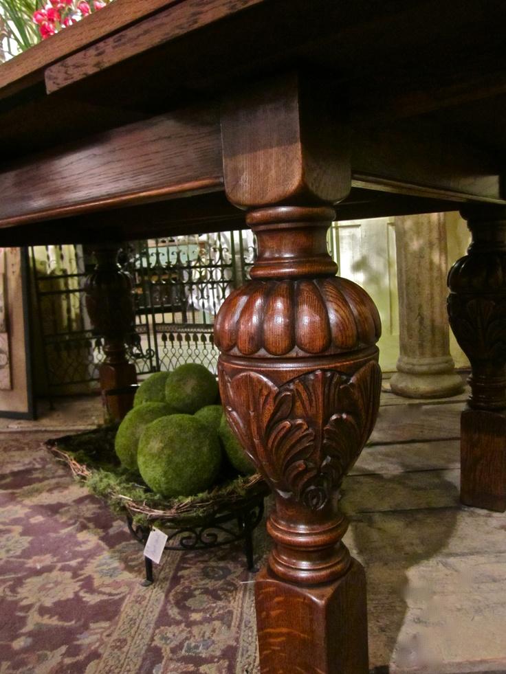 Belgian Carved Oak Table Antiques Pinterest Oak