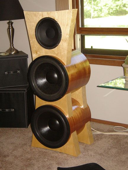 Ideas for DIY speaker designs... just in case you need a hobby.
