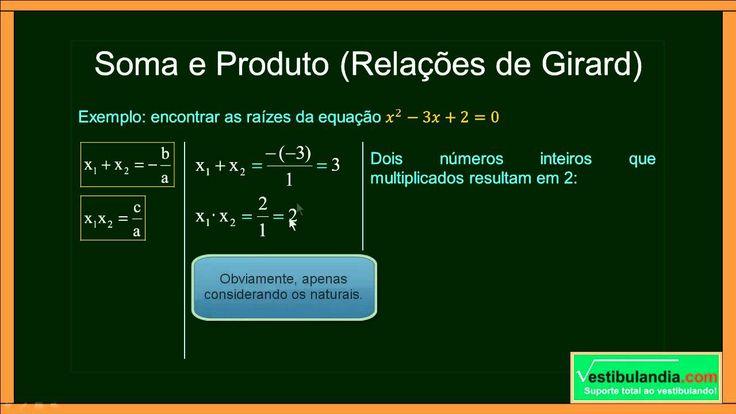 ENEM - Matemática Zero 2.0 - Aula 22 - Equações do Segundo Grau  - (part...