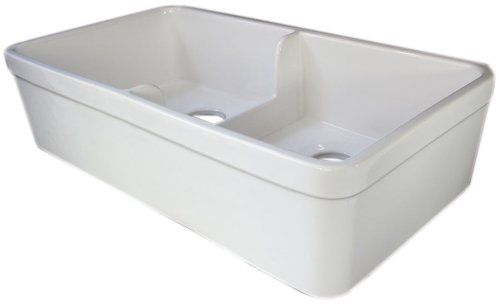 Biscuit Farmhouse Sink : ALFI Brand Biscuit 32