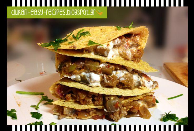 dukan-easy-recipes: Dukan tacos a la grecque